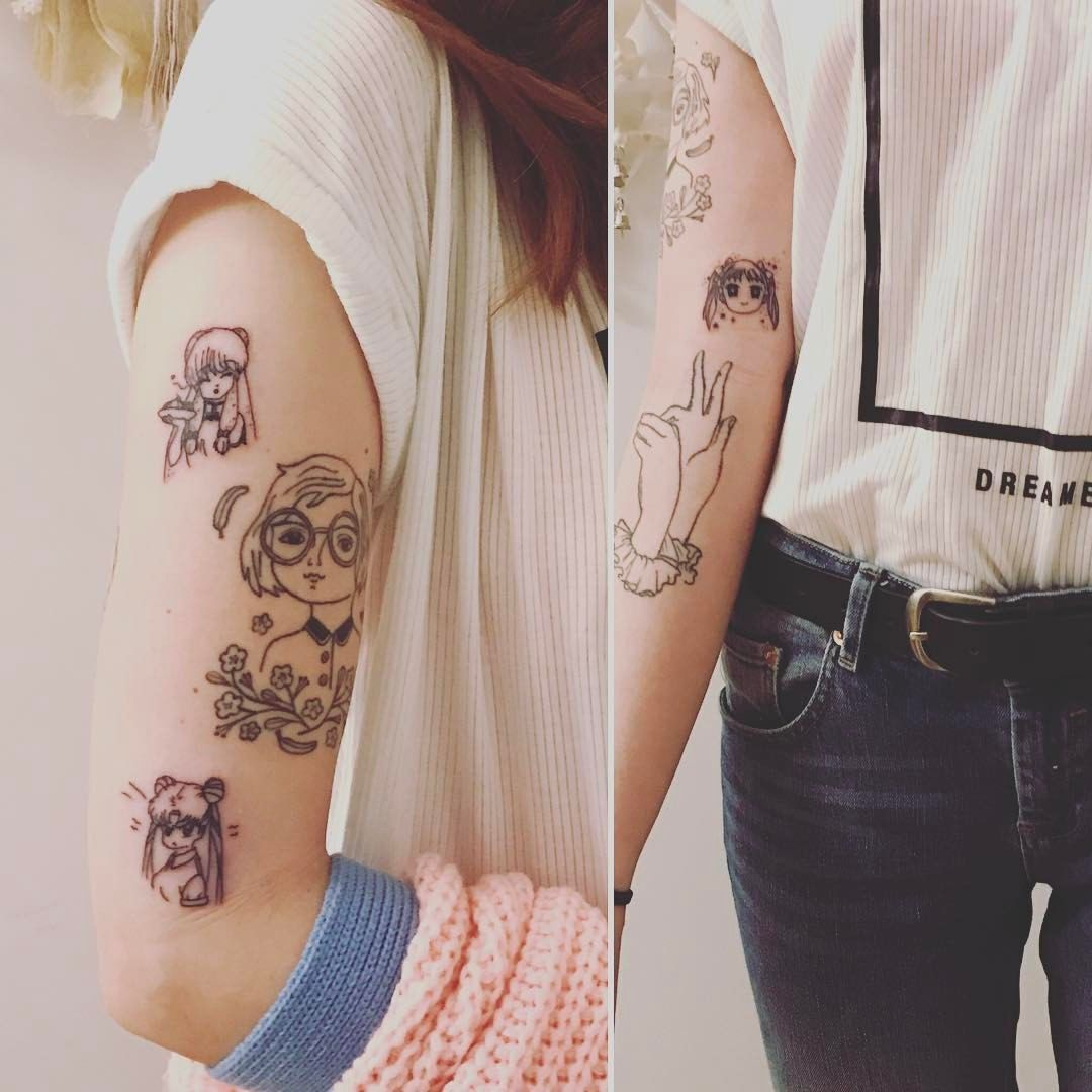 Pin by Samantha Seefeld on College   Tattoos, Marzia ...