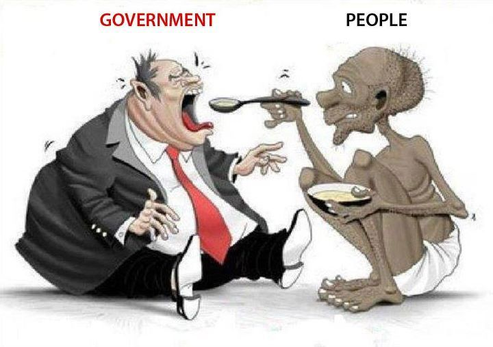 Image result for rich government poor people