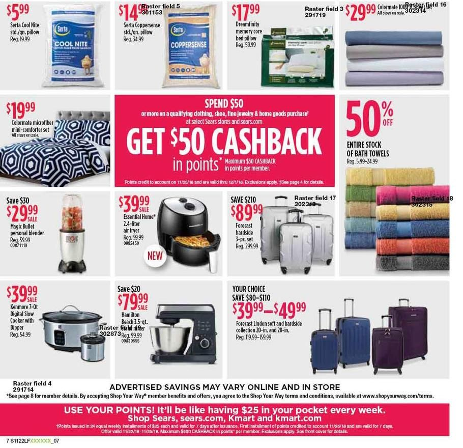 Sears Black Friday 2018 Ads and Deals Black friday ads