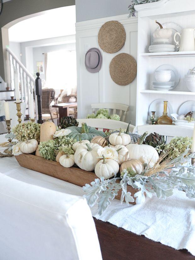 25 Simple Decor Ideas Using Fall Favorites Fall Dining Room Autumn Decorating Autumn Dining