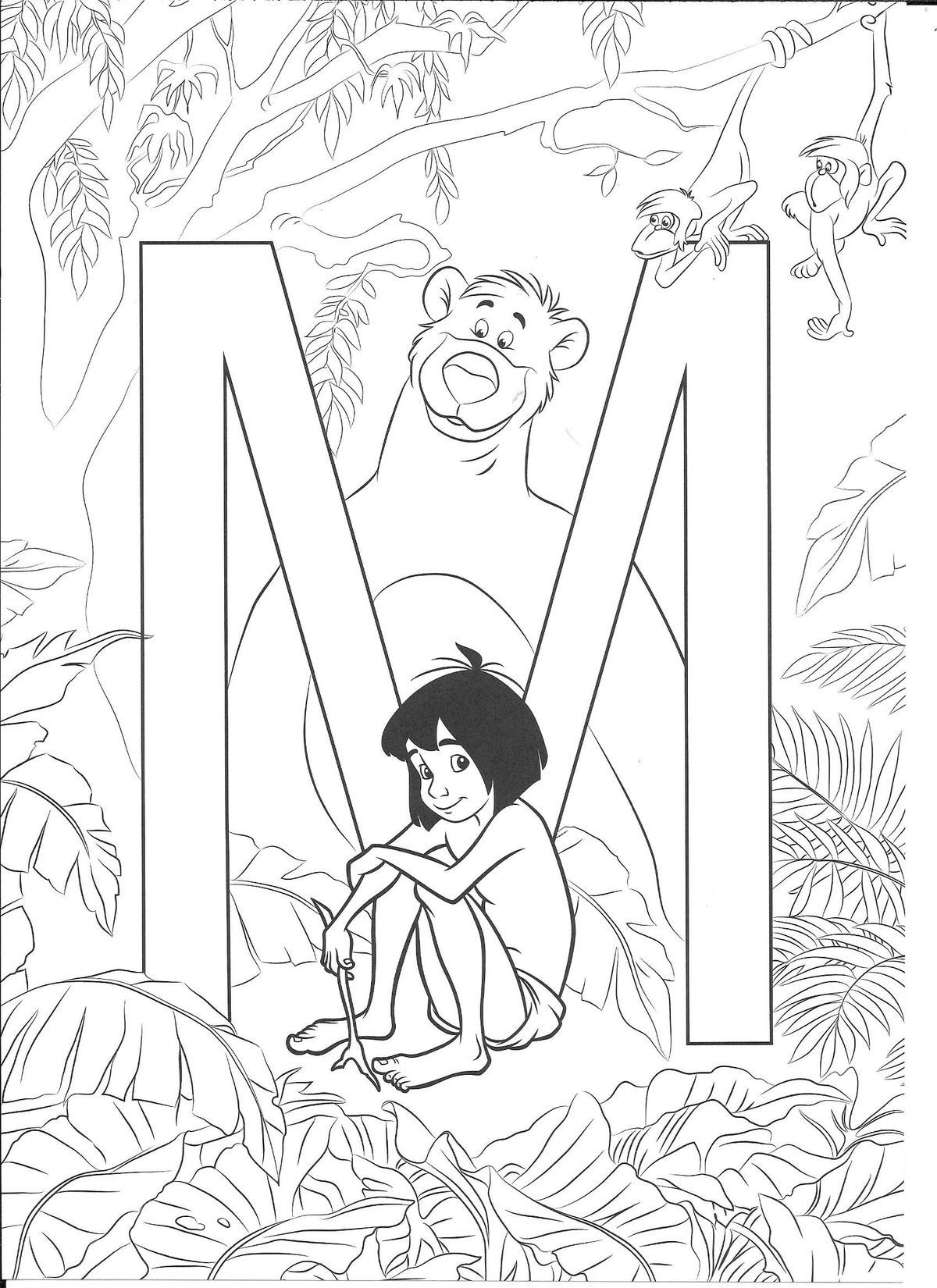 Pin by MJ Guerrero on Alphabet Coloring Sheets Disney