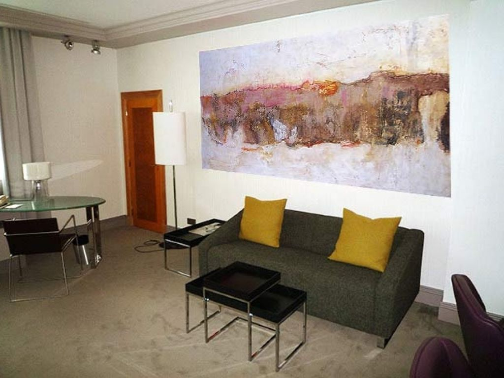 Moderne Kunst Wohnzimmer Kunstgalerie Berlin