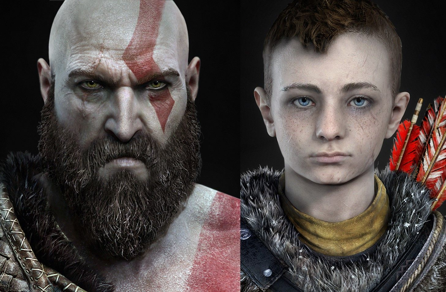 Image result for kratos and atreus (With images) God of