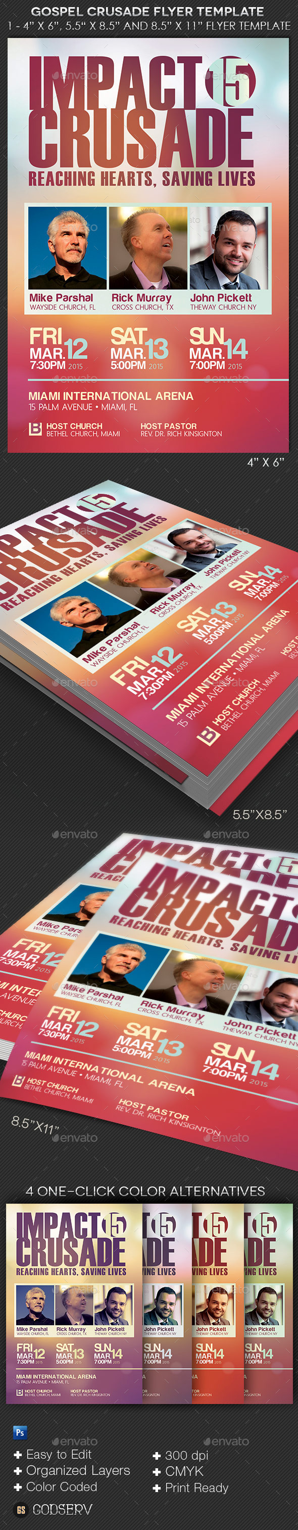 gospel crusade flyer template is for any kind of church outreach gospel crusade flyer template is for any kind of church outreach event the modern design