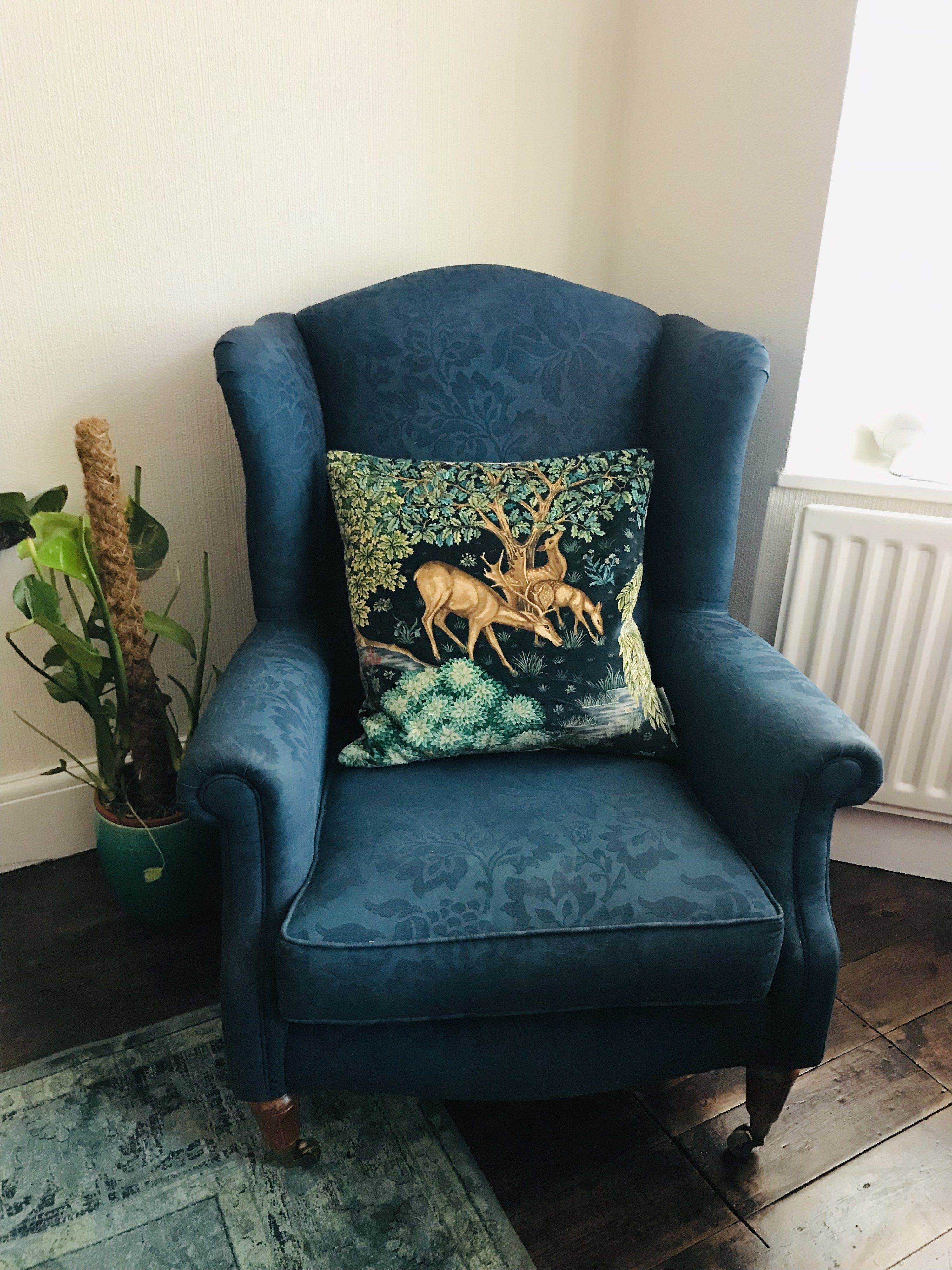 How To Dye A Fabric Chair Or Sofa The Burrow In 2019 Chair Fabric Sofa Makeover Chair