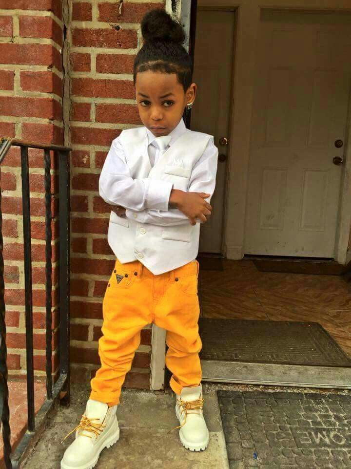 Follow@💎SunnieSun💎 | Cute black babies, Baby boy swag ... |Little Black Kids With Swag
