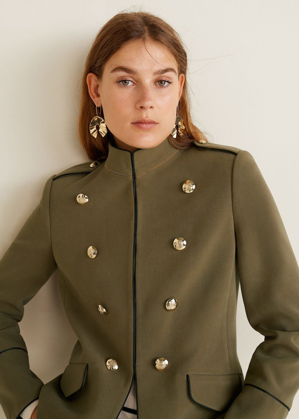 Online Fashion Military Fashion Military Style Jackets Military Jacket Outfits [ 1432 x 1024 Pixel ]