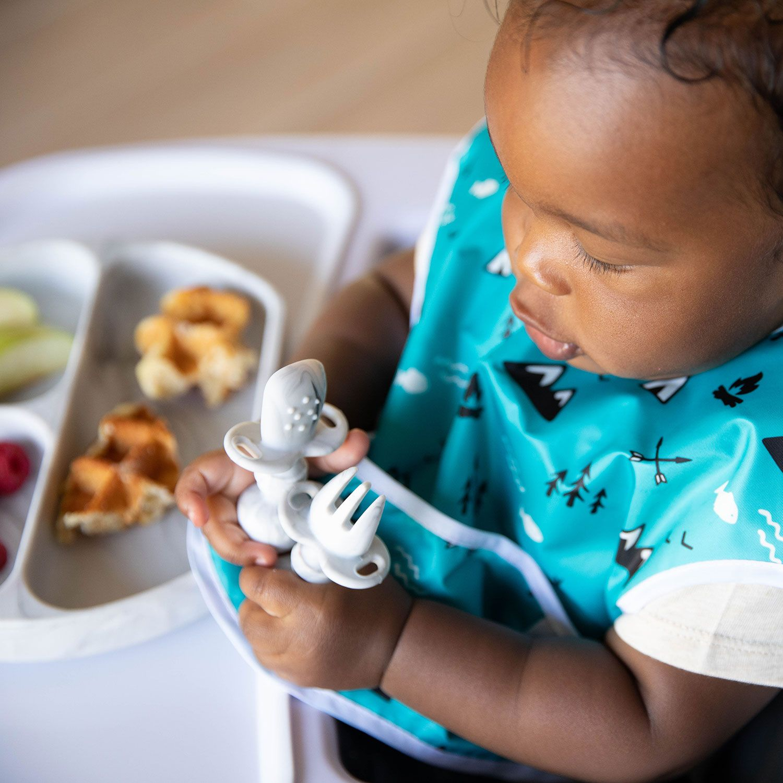 Bumkins Chewtensils Toddler Utensils Toddler Spoons Meal Time