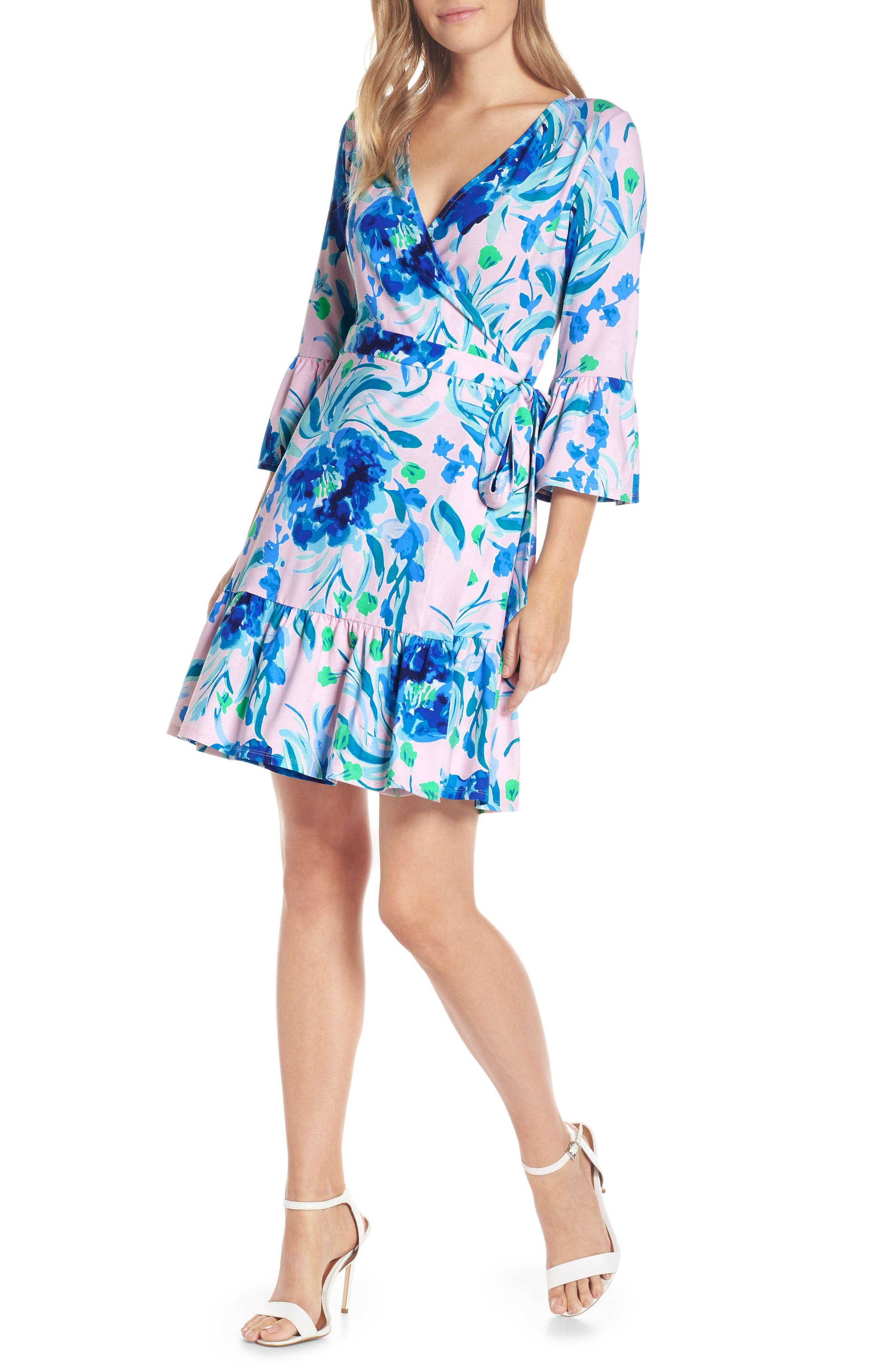 Lilly Pulitzer Misha Wrap Dress Nordstrom Clothes For Women Wrap Dress Fashion Clothes Women [ 4048 x 2640 Pixel ]