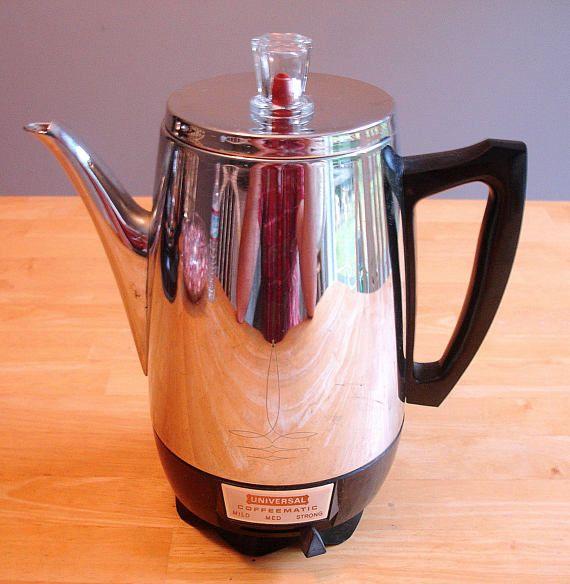 Universal Coffeematic Vintage Electric Percolator Coffeemaker