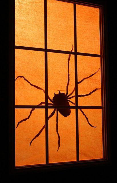 Pin by Marilyn Medici on Halloween Pinterest Spider, Garage - halloween garage ideas