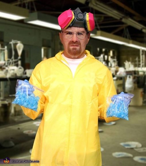 Breaking Bad Walter White Halloween Costume Contest at