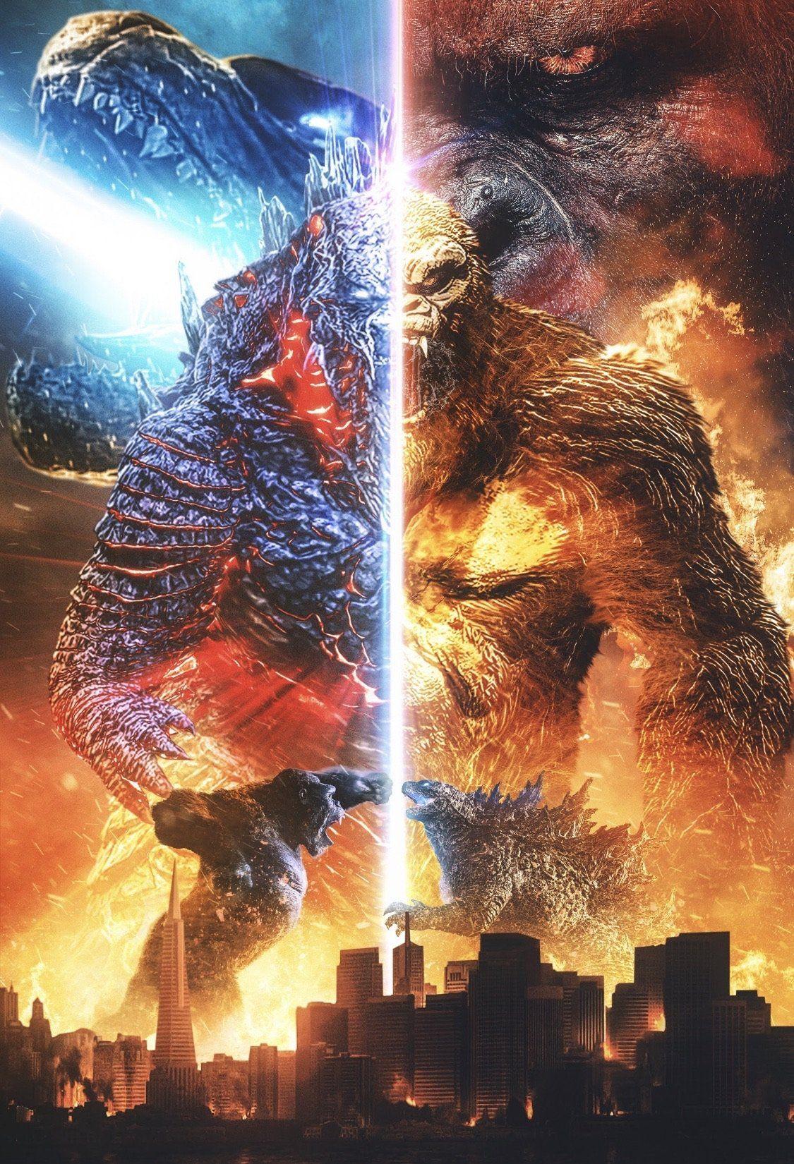 'Godzilla V Kong' Poster - 12 x 18
