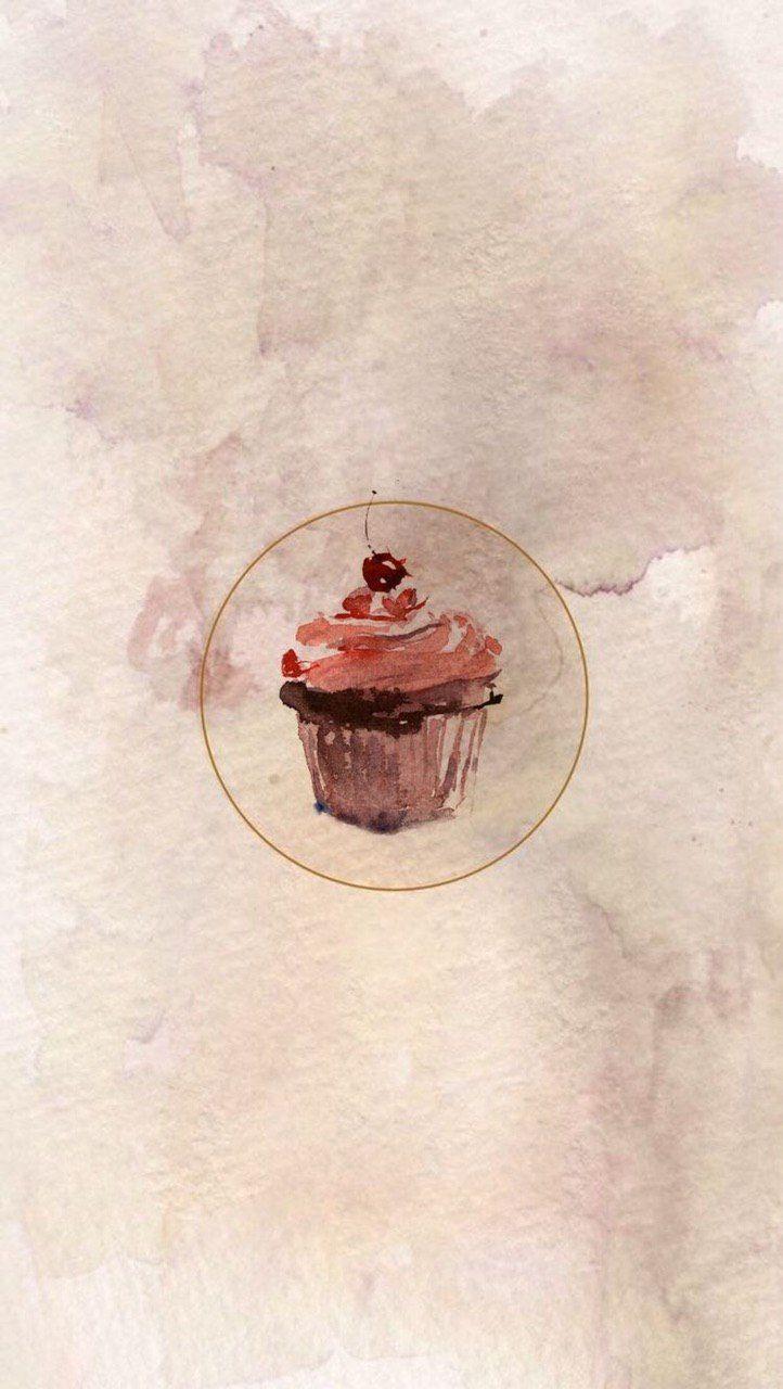 Cupcake topic food icons ideas Абстрактные фотографии