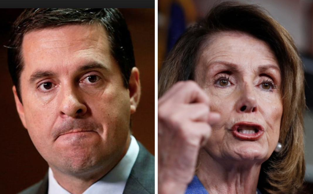 Yikes Pelosi Goes Into Full Panic Mode Before Memo Release Demands Nunes Be Fired Candidates For President Democratic National Convention Panic