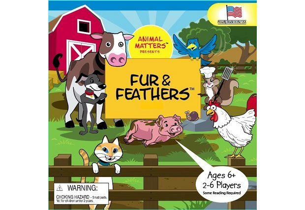 Fur and Feathers Board Game Cool pets, Work with animals