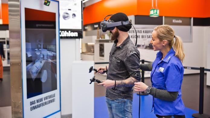 Media-Saturn testet Virtual Reality bei der Küchenplanung | heise online