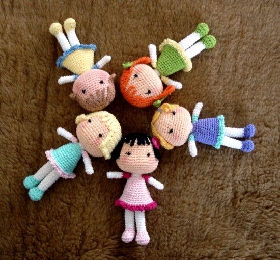 Crochet Dolls Free Patterns Amigurumi Video Tutorial | Gehäkelte ...