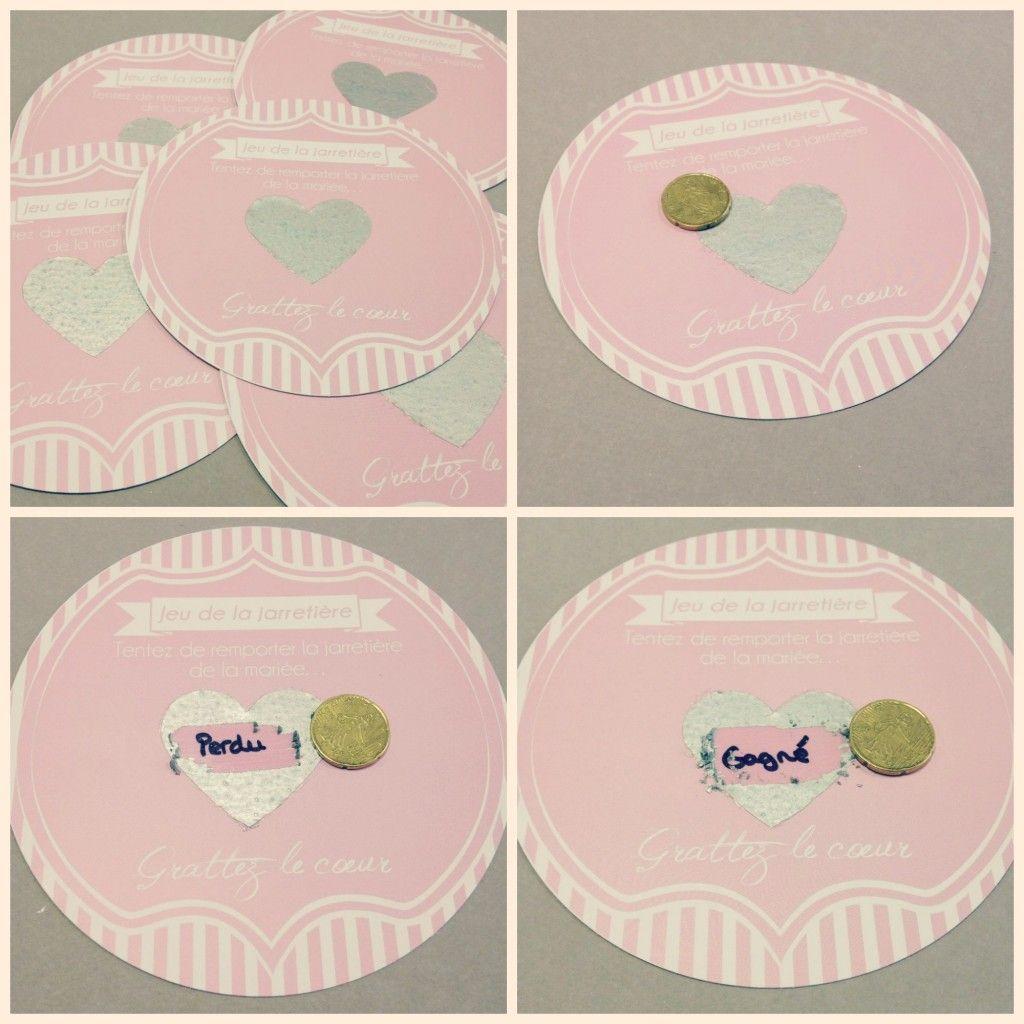 Connu ticket-a-gratter-mariage | jeu de la jarretiere | Pinterest  LX36