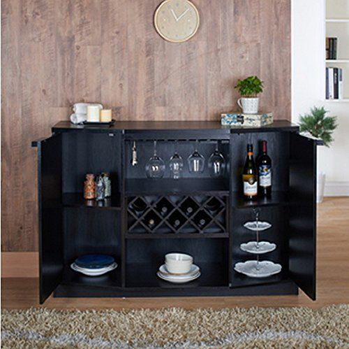 Pottstown Buffet Server Sideboard Cabinet With Wine Storage By Darby Home Co