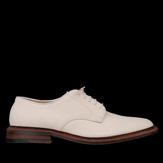 UNIONMADE - UNIONMADE Naturals - Arthur Unlined Suede Dover in Ivory 29330F ($490.00) - Svpply