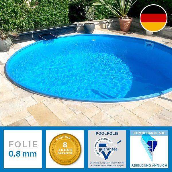 Stahlwand Rundpools einzeln oder im Set mit umfangreichem Zubehör - indoor pool bauen traumhafte schwimmbaeder