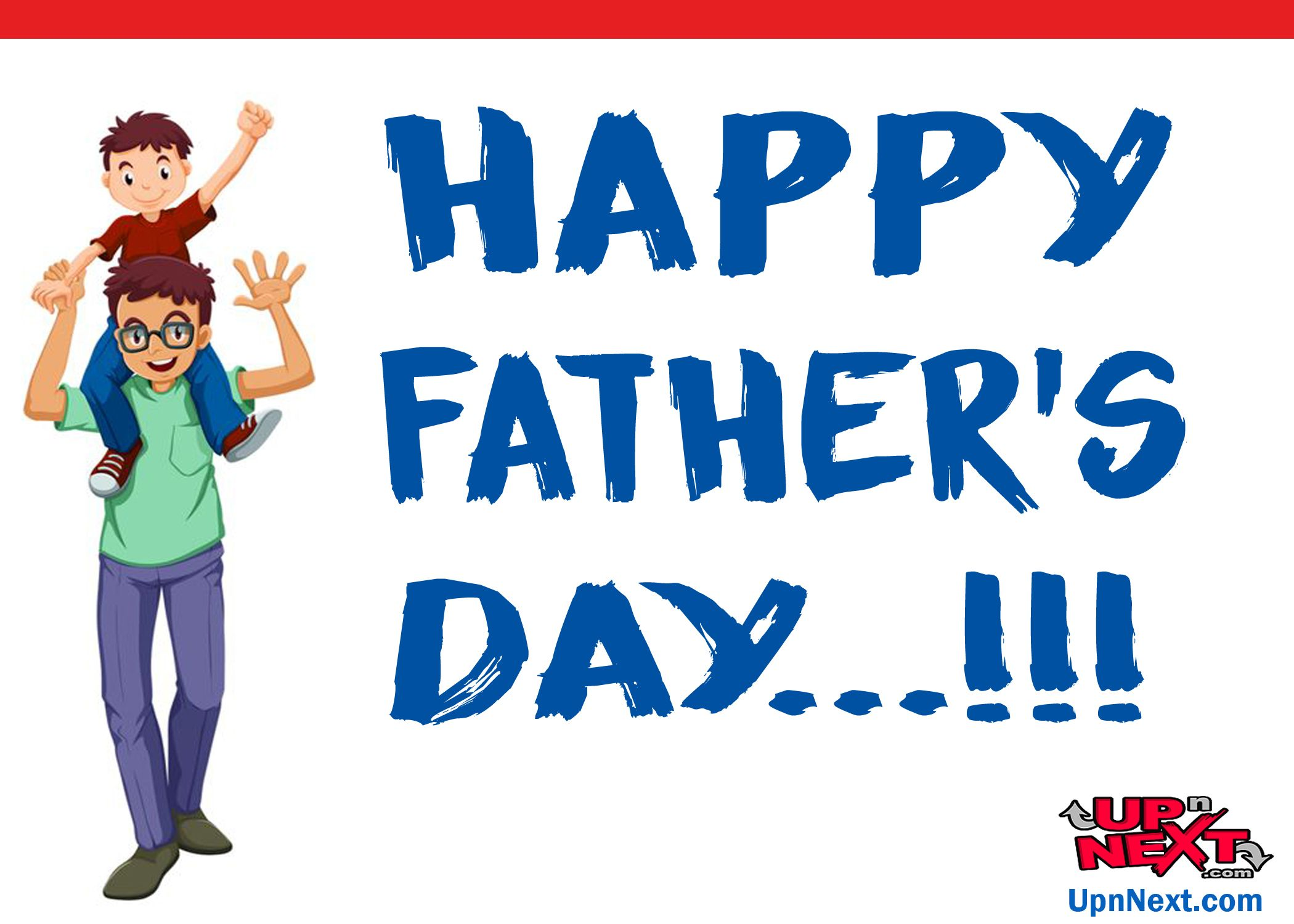 small resolution of happy father s day get free fathersday cards for your dad with clip art of dad and son in this card son is sitting on dad s shoulders