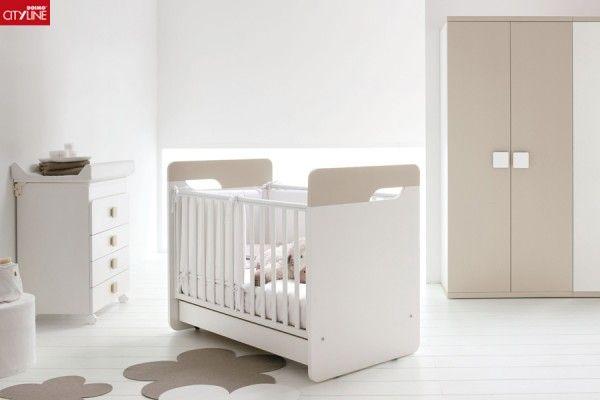 Composiciones para cuarto de bebés Luna. Cunas, muebles de servicio ...