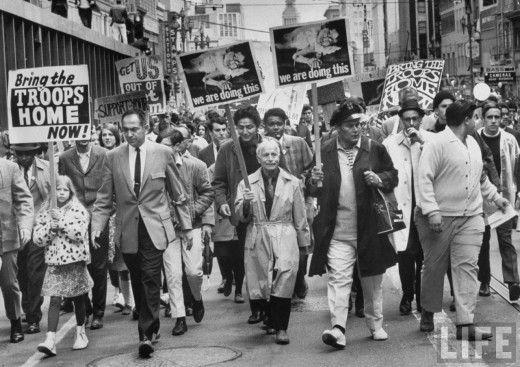 Vietnam Protest San Francisco 1967 Vietnam Protests Vietnam War Vietnam