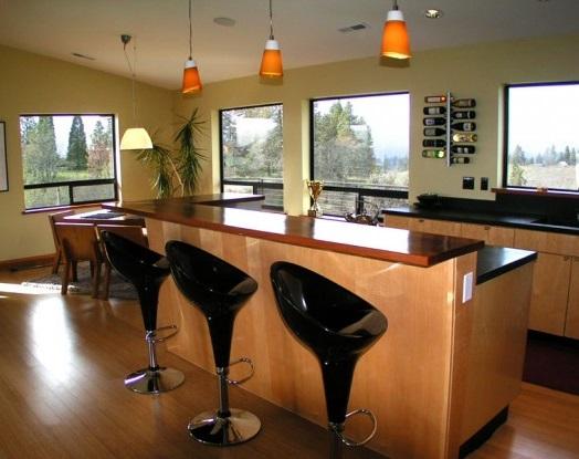 Furniture Kitchen Bar Set Bat Bars Family Room Cottage Wicker Stools Wet Balcony Metal