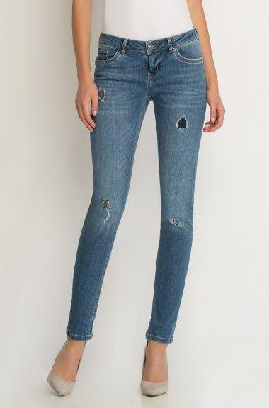 ORSAY JEANS | Destroy jeans with sequin details #mywork #fashiondesigner #denim #embellished
