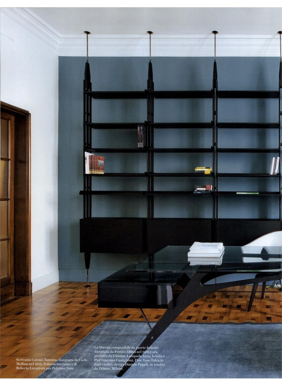 Case da abitare infinito design franco albini bookcase decoraci n hogar decoraci n de - Libri design interni ...