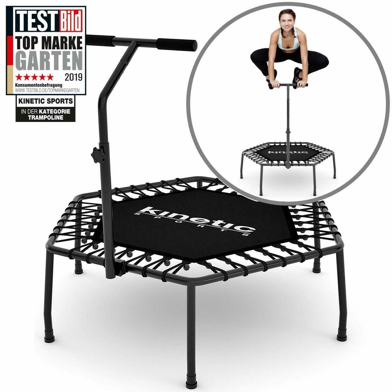 Kinetic Sports Mini Trampolin Fitness Hexagon Sechseckig Mit Griff Indoor Ebay In 2020 Fitness Indoor Ebay