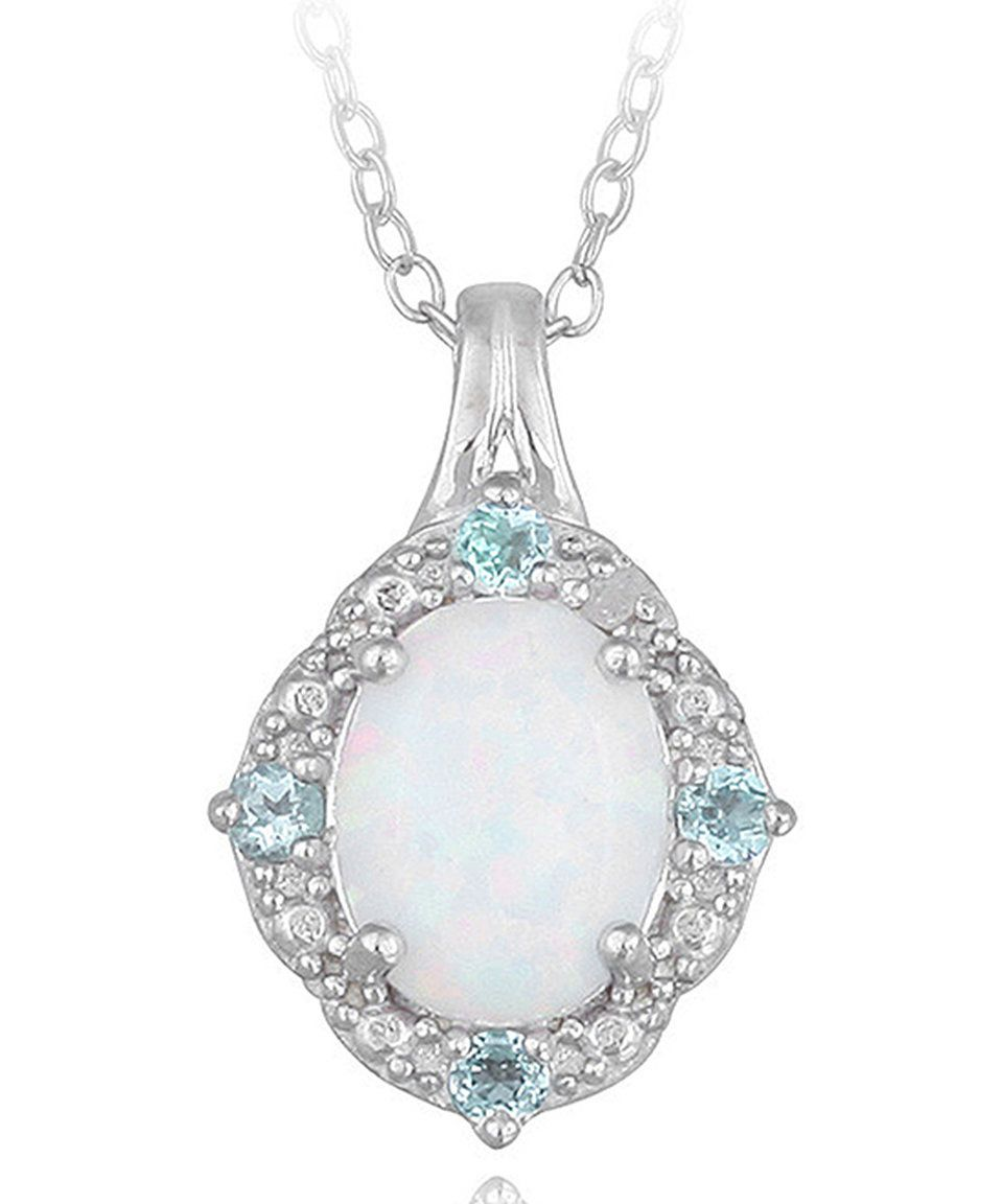 of pendant serene opal white whiteopal queen product