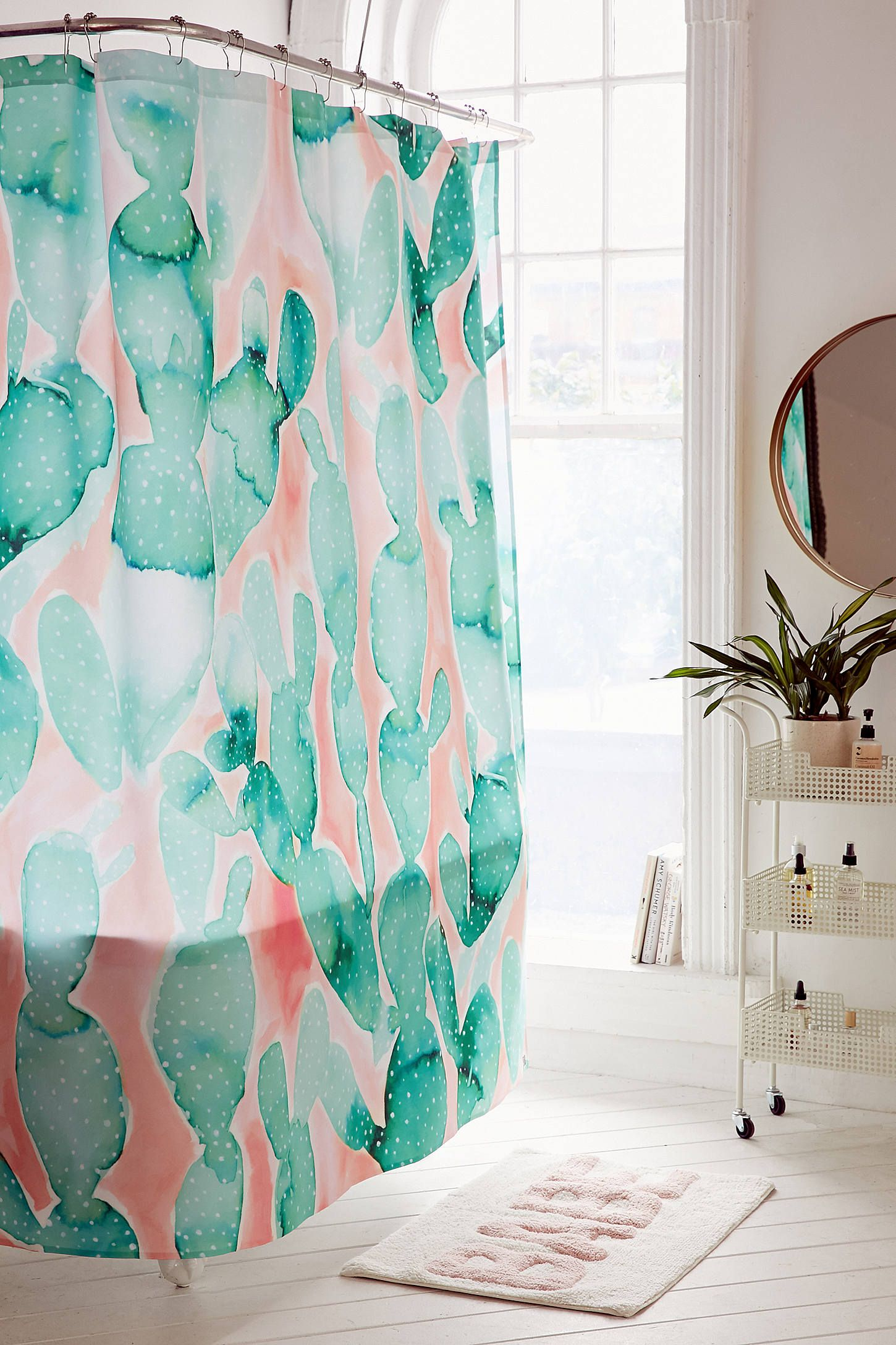 Shop The Jacqueline Maldonado For DENY Paddle Cactus Shower Curtain And More Urban Outfitters At Read Customer Reviews Discover Product