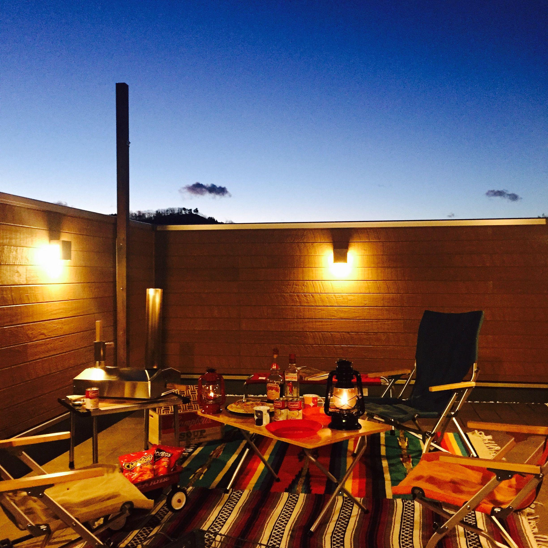 Sh Spaceの写真集 埼玉で注文住宅を建てる工務店 マンションのバルコニー 屋上テラス 屋上 バーベキュー
