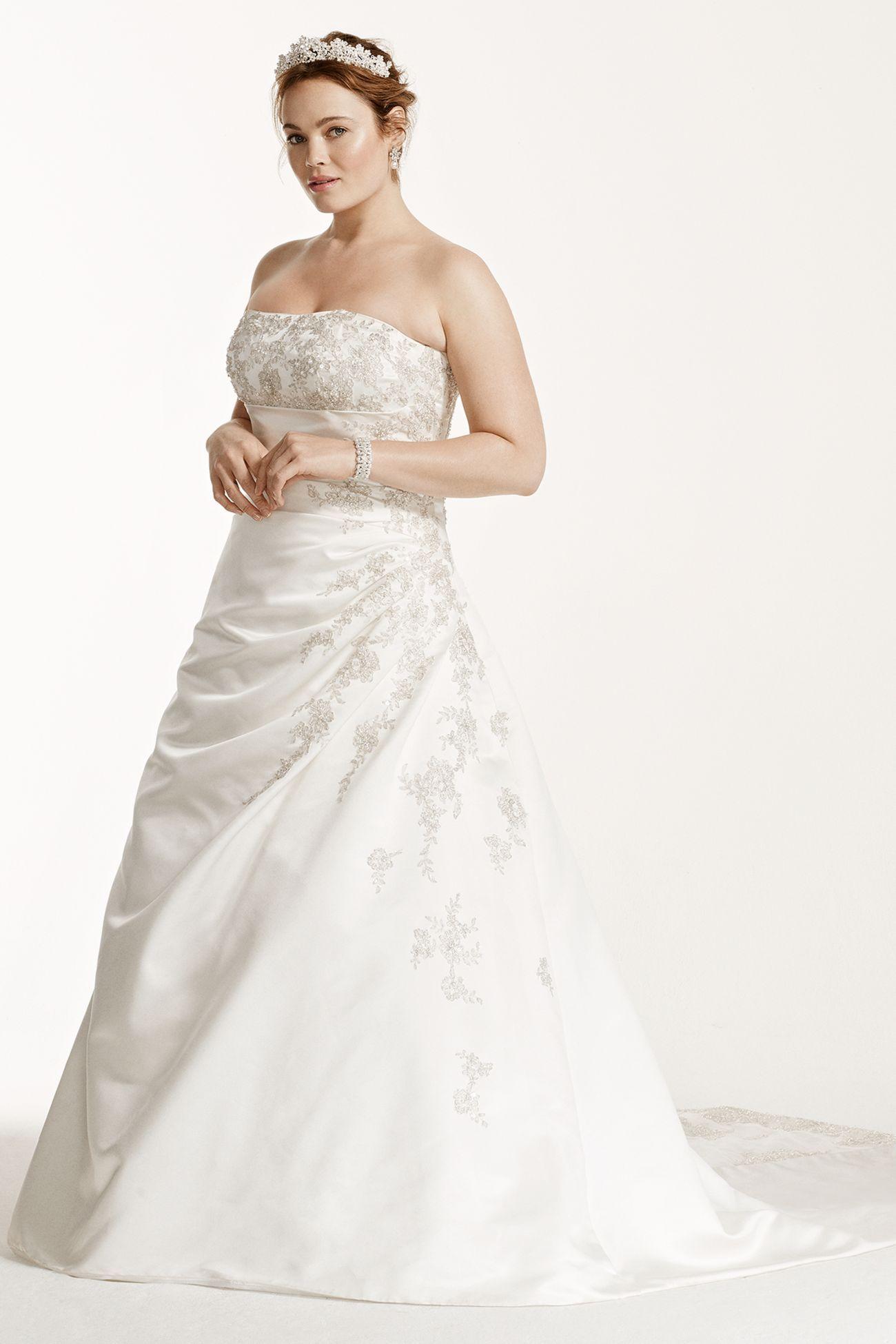 Maternity wedding dresses david's bridal  V  wedding dress  Pinterest  Wedding dress Wedding and