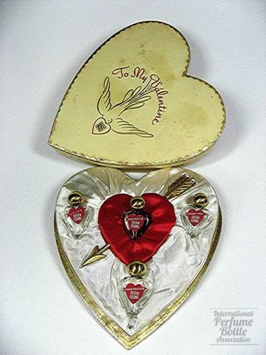 *Valentine set, Lucien Lelong 1940