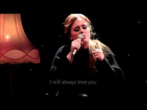Adele Lovesong Official Video Lyrics Live From Tabernacle