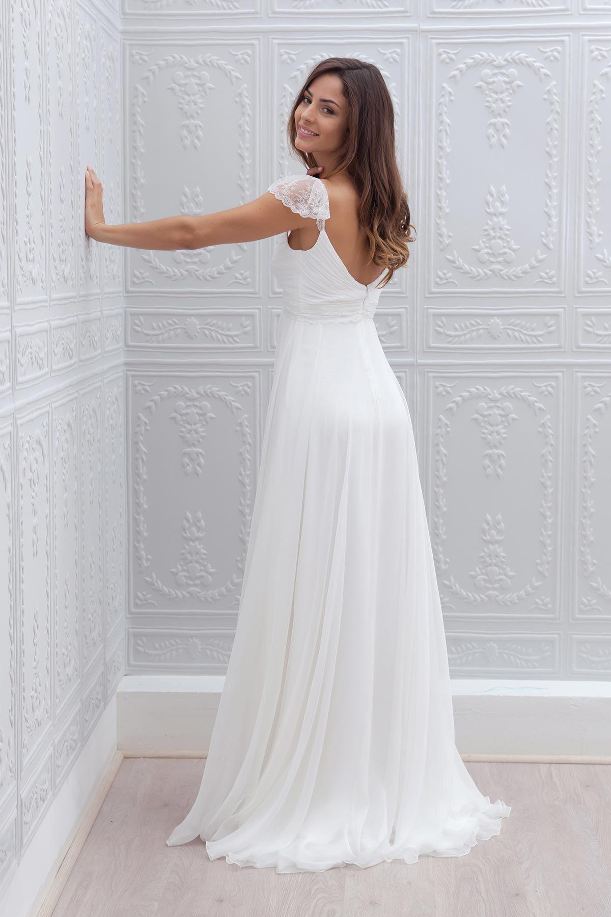 Dresses for summer wedding reception  Joy  Marie laporte  robe  Pinterest  Wedding dress Wedding and