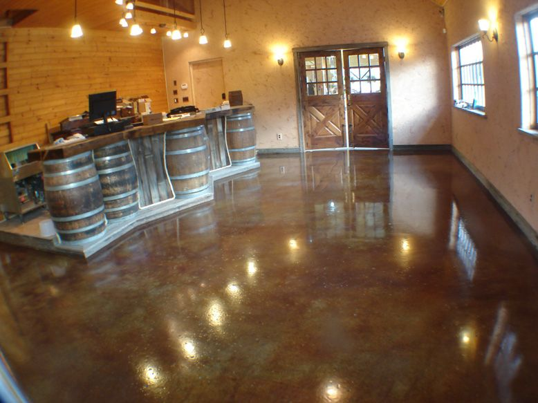 How to finish floors thefloors co for Best way to mop concrete floors