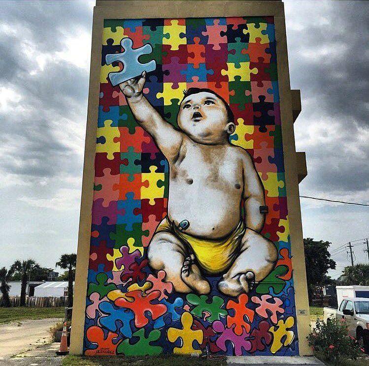 New Street Art  Anthony Hernandez   #art #mural #graffiti #streetart https://t.co/Yz6YCCR5C9