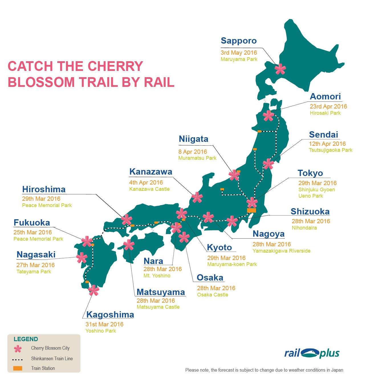 Cherry Blossom Map Japan Rail Plus new | Travels in 2019 ... on iris map, beach map, cherry blue, banana map, cocoa map, strawberry map, honeysuckle map, tree map, coconut map, pineapple map, coffee map, butterfly map, dragonfly map, marathon map, bamboo map, cherry blossoms bloom washington dc, champagne map,
