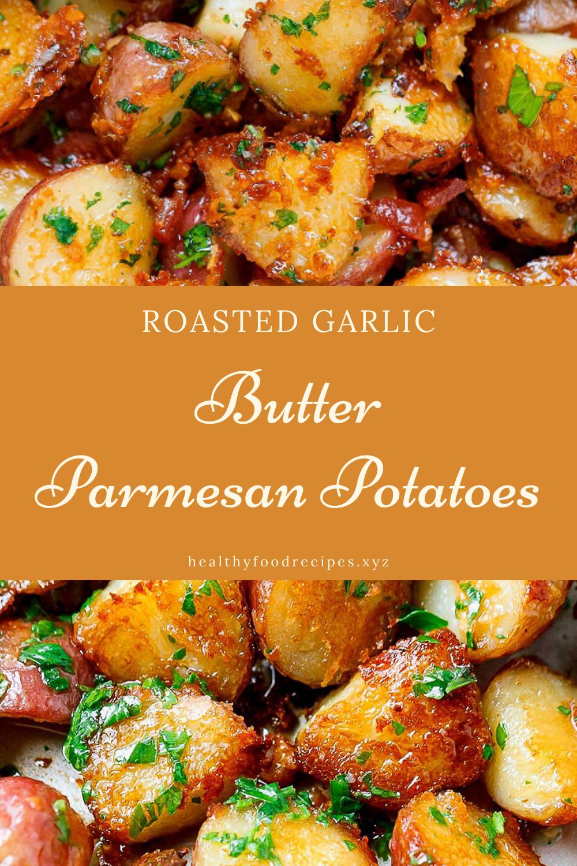 Roasted Garlic and Parmesan Potatoes Recipes