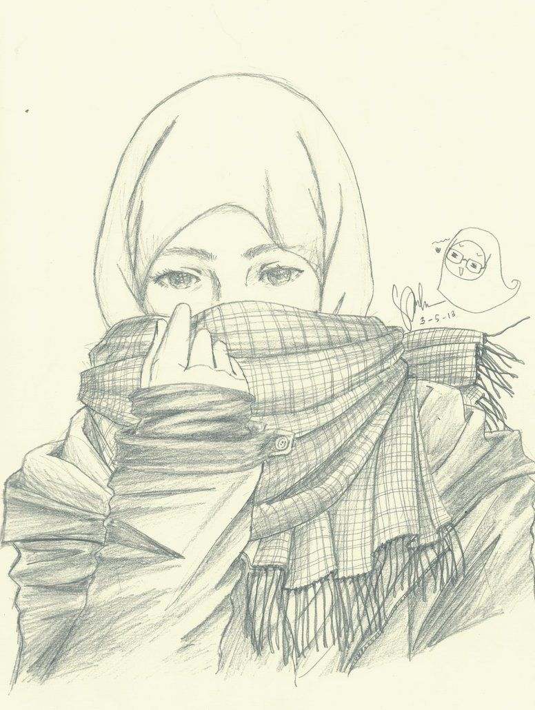 Hijab girl manga google search