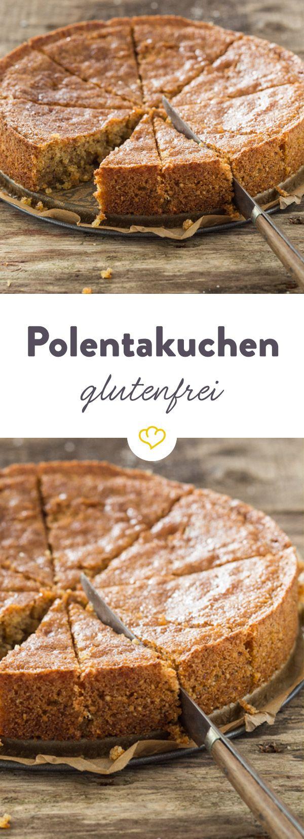 Glutenfreier Polentakuchen