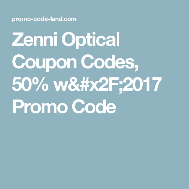 zenni coupons october 2019