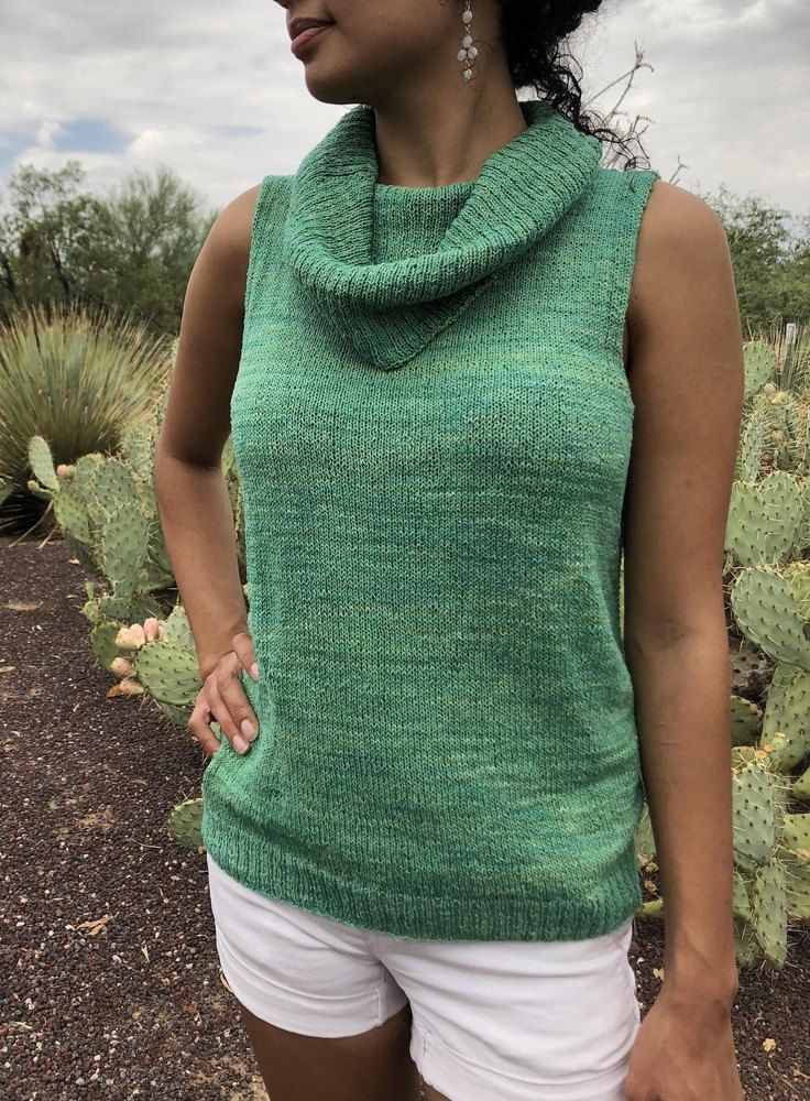 Photo of Cactus Blossom Knitting pattern by Kathryn Folkerth
