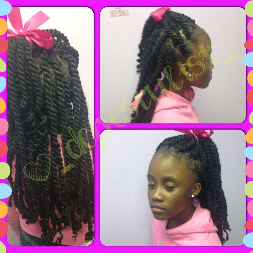 Kids Marley Twist Dios Mali Braid Hair