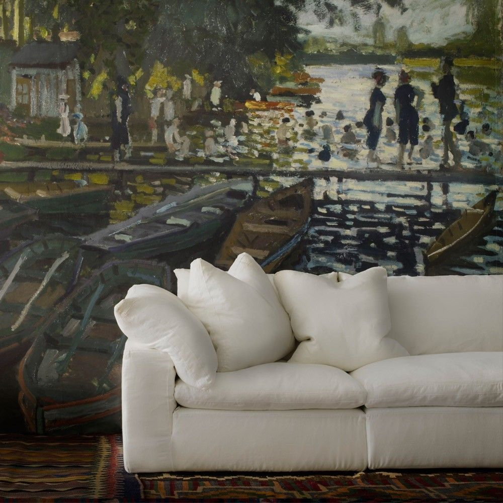 Exceptionnel Andrew Martin Truman Sectional Sofa   White Linen | SOF0408 | £1,195.00